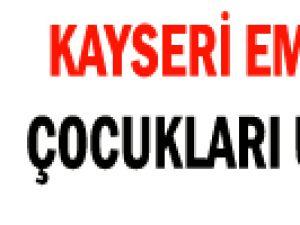 KAYSERİ EMNİYET  ÇOCUKLARI UYARDI