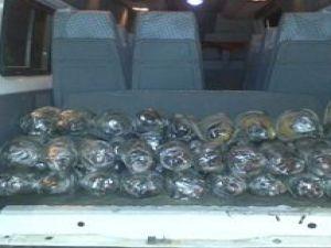 Kayseri'de Uyuşturucu Operasyonu 53 kilo esrar maddesi