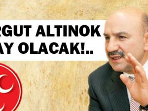 Turgut Altınok MHP'den aday mı oluyor?