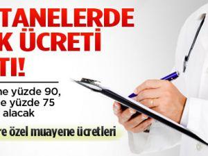 Özel hastanelerde muayene farkı ücretleri
