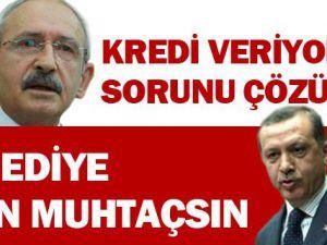 Başbakan Erdoğan'dan, Kılıçdaroğlu'na 'Kredi' Cevabı
