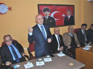 AK Parti Talas İlçe Danışma Toplantısı Yapıldı