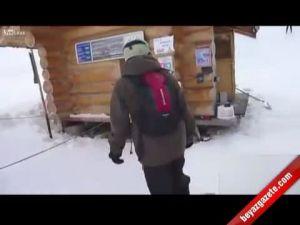 Kayak pistleri böyle beceriksizlik görmedi