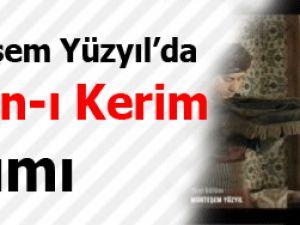 Muhteşem Yüzyıl'da Kur'an-ı Kerim'li sahne