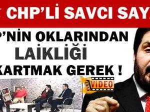 Savcı Sayan: 'CHP'nin Oklarından Laikliği Çıkartırdım'