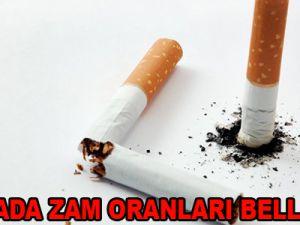 SİGARADA ZAM ORANLARI BELLİ OLDU