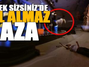 Yetenek Sizsiniz'de Hülya Avşar'ı ağlatan kaza-video