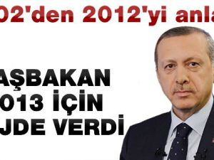 Başbakan Erdoğan Son 10 Yılı Anlatıp Yeni Yıl İçin Müjde Verdi!..