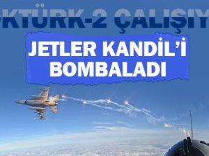 Türk jetleri Kuzey Irak'ı bombaladı