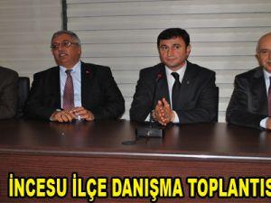 AK PARTİ  İNCESU İLÇE DANIŞMA TOPLANTISI YAPILDI
