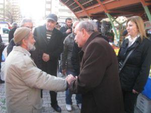 CHP TALAS İLÇE ESNAF ZİYARETLERİ