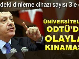 Başbakan Erdoğan'dan ODTÜ Olaylarıyla İlgili Sert Açıklama