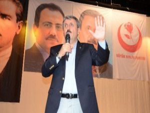 """BBP Genel Başkanı Mustafa Destici: """"Barzani ile görüşme neden Diyarbakır'da yapılıyor?"""""""