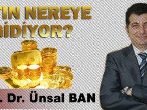 Prof. Ünsal Ban Altın Fiyatlarının Gidişatını Anlattı