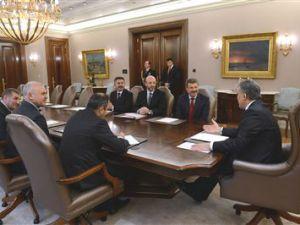 Cumhurbaşkanı Gül, Kayseri Şeker Fabrikası Başkanı Hüseyin Akay'ı Kabul Etti