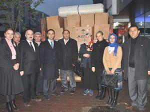 AK Parti'den Suriyelilere Yardım