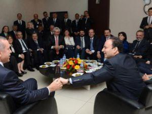 Başbakan Erdoğan ve Osman Baydemir arasında geçen görüşme