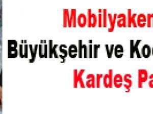 Mobilyakent'e Büyükşehir ve Kocasinan'dan Kardeş Payı