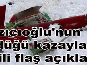 Yazıcıoğlu'nun öldüğü kazayla ilgili flaş açıklama