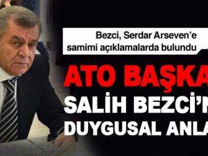 Serdar Arseven'in Konuğu ATO Başkanı Salih Bezci