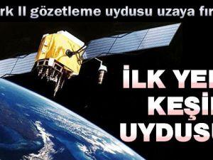 İlk yerli keşif uydusu fırlatıldı!..
