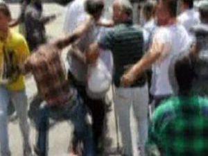KAYSERİ'DE OKUL SERVİSÇİLERİNİN 'HAVUZ' KAVGASI