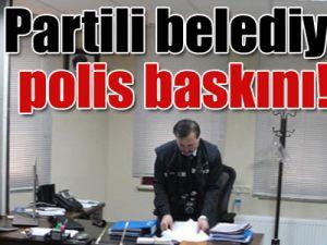 Ak Partili belediyeye polis baskını