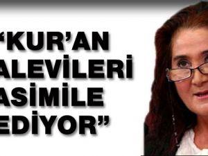 Sabahat Akkiraz: 'Kur'an Alevileri Asimile Ediyor'
