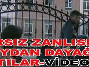 Hırsız Zanlısına meydan dayağı attılar-video