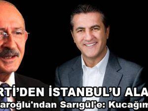 Kılıçdaroğlu'ndan Sarıgül'e: Kucağımız açık