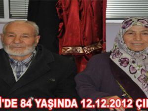 KAYSERİ'DE 84 YAŞINDA 12.12.2012 ÇILGINLIĞI