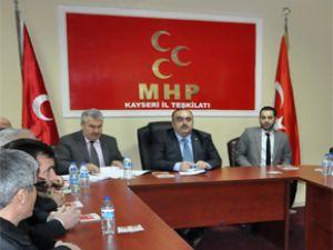 MHP'DE İSTİŞARE TOPLANTISI