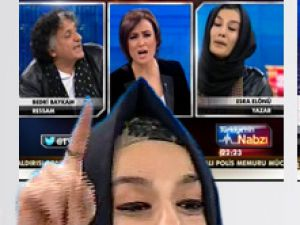 Esra Elönü'yle Bedri Baykam'ın kavgası ekranları sarstı