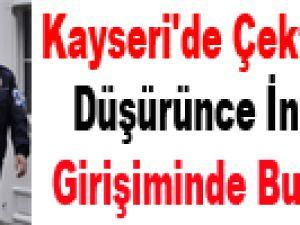 Kayseri'de Çektiği Maaşını Düşürünce İntihar Girişiminde Bulundu