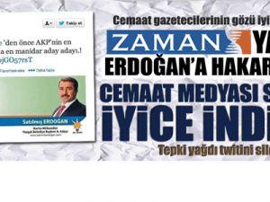 ZAMAN yazarından Başbakan Erdoğan'a çirkin hakaret!