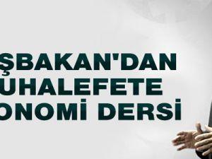 Başbakan Erdoğan, Muhalefete Ekonomi Dersi Verdi!..