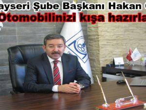 MMO Kayseri Şube Başkanı Hakan ÖZCAN: