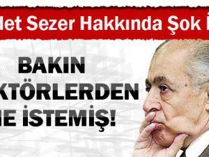 Ahmet Necdet Sezer hakkında şok iddia