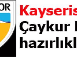 Kayserispor'da Çaykur Rize hazırlıkları