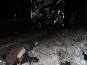 Nevşehir'de Madenciler Trafik Kazası Yaptı 4 İşçi Öldü