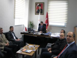 MMO Kayseri Şubeden Melikşah Üniversitesine ziyaret