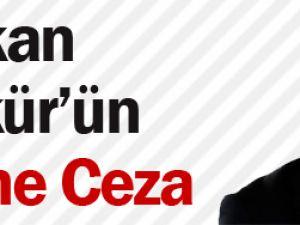 Hakan Şükür'ün Eşine Ceza