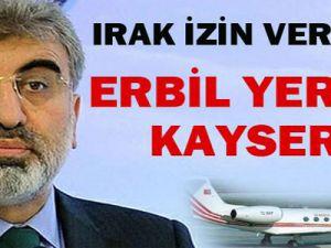 Irak: Bakan Taner Yıldız'ın uçağına iniş izni vermedi.