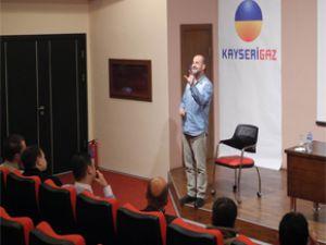 KAYSERİGAZ 'DA ''ÇOCUKLARLA ETKİN İLETİŞİM'' SEMİNERİ