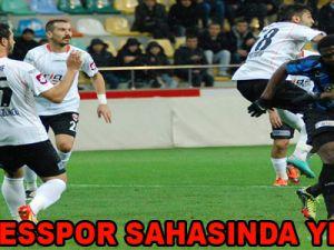 ERCİYESSPOR SAHASINDA YENİLDİ