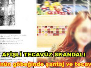 ODTÜ'nün göbeğinde şantaj ve tecavüz afişi