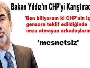 Bakan Yıldız'ın CHP'yi Karıştıracak İddiası