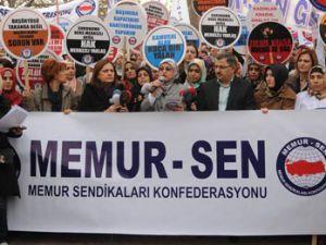 Memur-Sen'den başörtü yasağına karşı eylem