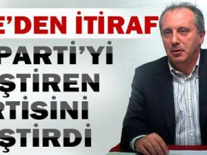 Muharrem İnce'den CHP'nin makarna söylemini eleştirdi.