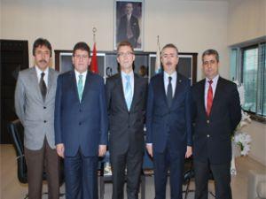 SGK İL Müdüründen Başkan Mustafa Boydak'a Ziyaret